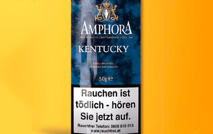 Pfeifentabak der Saison: AMPHORA KENTUCKY