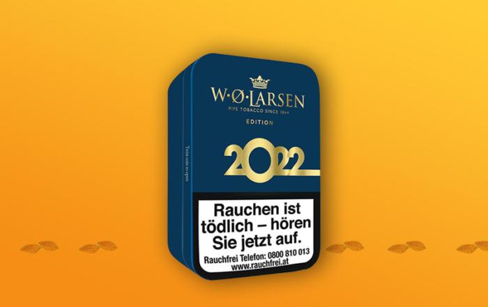 Pfeifentabak der Saison: W.O. LARSEN EDITION 2022
